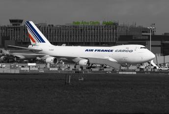 F-GIUE - Air France Cargo Boeing 747-400F, ERF