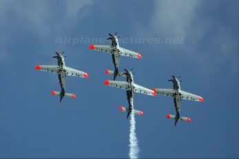 "024 - Poland - Air Force ""Orlik Acrobatic Group"" PZL 130 Orlik TC-1 / 2"