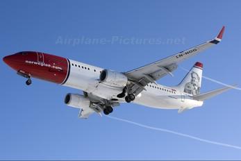 LN-NOG - Norwegian Air Shuttle Boeing 737-800