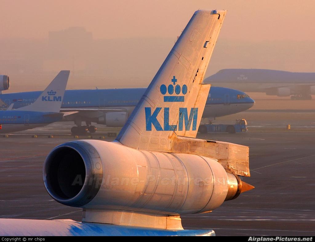 KLM PH-KCF aircraft at Amsterdam - Schiphol
