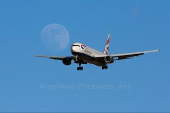 G-BNWB - British Airways Boeing 767-300