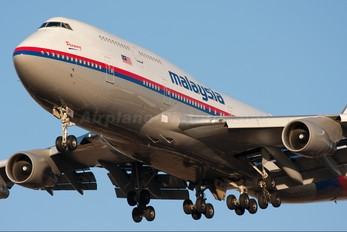 9M-MPL - Malaysia Airlines Boeing 747-400