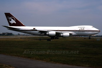 A7-ABK - Qatar Airways Boeing 747SR