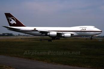 A7-ABK - Qatar Airways Boeing 747SR