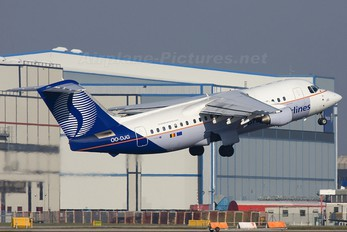 OO-DJG - Brussels Airlines British Aerospace BAe 146-200/Avro RJ85