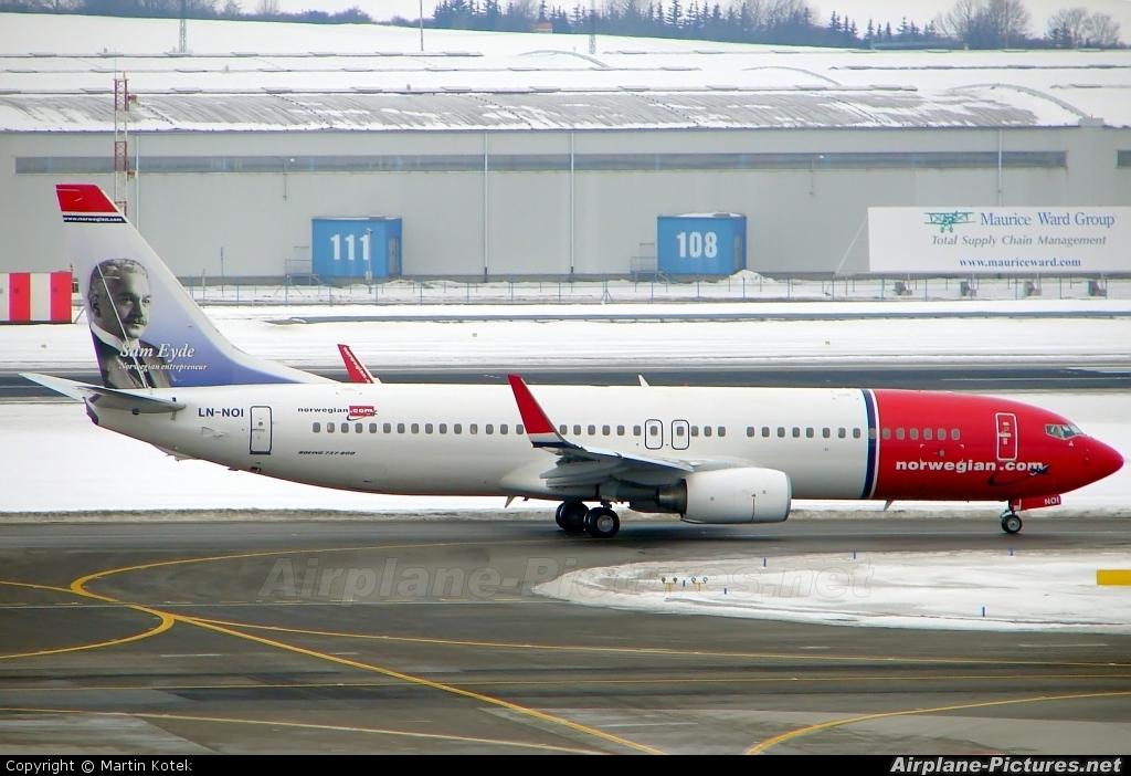 Norwegian Air Shuttle LN-NOI aircraft at Prague - Václav Havel