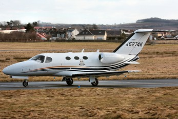 N5274K - Private Cessna 510 Citation Mustang