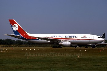 G-BMNC - Dan Air London Airbus A300