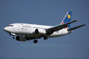 V5-NDI - Air Namibia Boeing 737-500