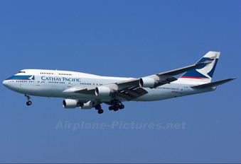 B-HKF - Cathay Pacific Boeing 747-400
