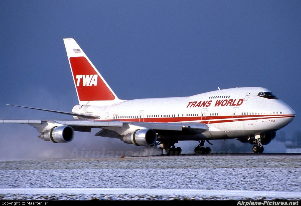TWA N57203 aircraft at Amsterdam - Schiphol