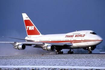 N57203 - TWA Boeing 747SP