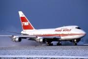 N57203 - TWA Boeing 747SP aircraft