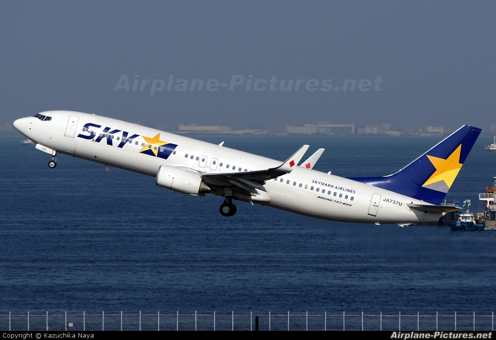 Skymark Airlines JA737U aircraft at Tokyo - Haneda Intl