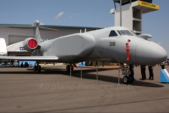 016 - Singapore - Air Force Gulfstream Aerospace G-V, G550 ELINT (Special missions)
