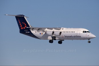 OO-DWK - Brussels Airlines British Aerospace BAe 146-300/Avro RJ100