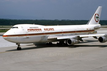 TJ-CAB - Cameroon Airlines Boeing 747-200