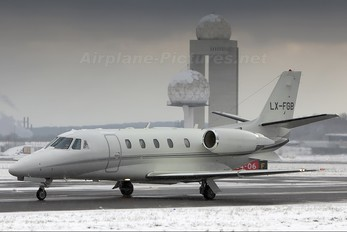 LX-FGB - Flying Group Cessna 560XL Citation XLS