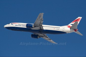 G-DOCV - British Airways Boeing 737-400