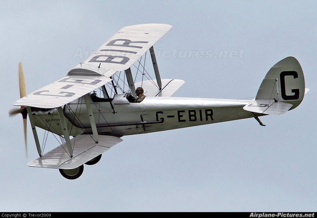 The Shuttleworth Collection G-EBIR aircraft at Old Warden