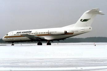 TR-LSU - Air Gabon Fokker F28