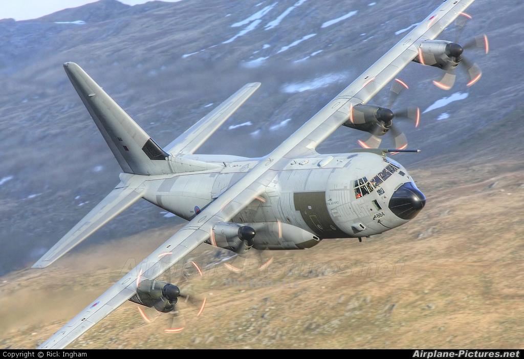 Royal Air Force ZH884 aircraft at Off Airport - England