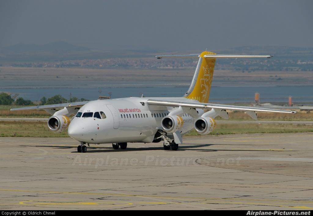 Malmo Aviation SE-DSX aircraft at Burgas