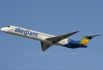 N873GA - Allegiant Air McDonnell Douglas MD-83