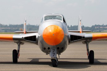 ZU-DFH - South Africa - Air Force Museum de Havilland DH.115 Vampire T.55