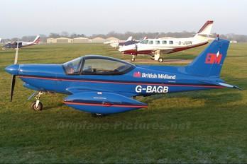G-BAGB - BMI British Midland SIAI-Marchetti SF-260