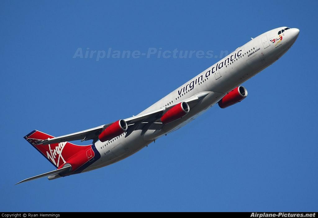 Virgin Atlantic G-VAIR aircraft at London - Heathrow