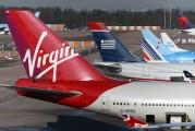 G-VROS - Virgin Atlantic Boeing 747-400 aircraft