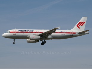 PH-MPF - Martinair Airbus A320