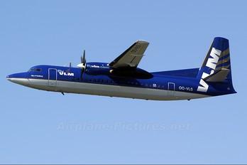 OO-VLS - VLM Airlines Fokker 50
