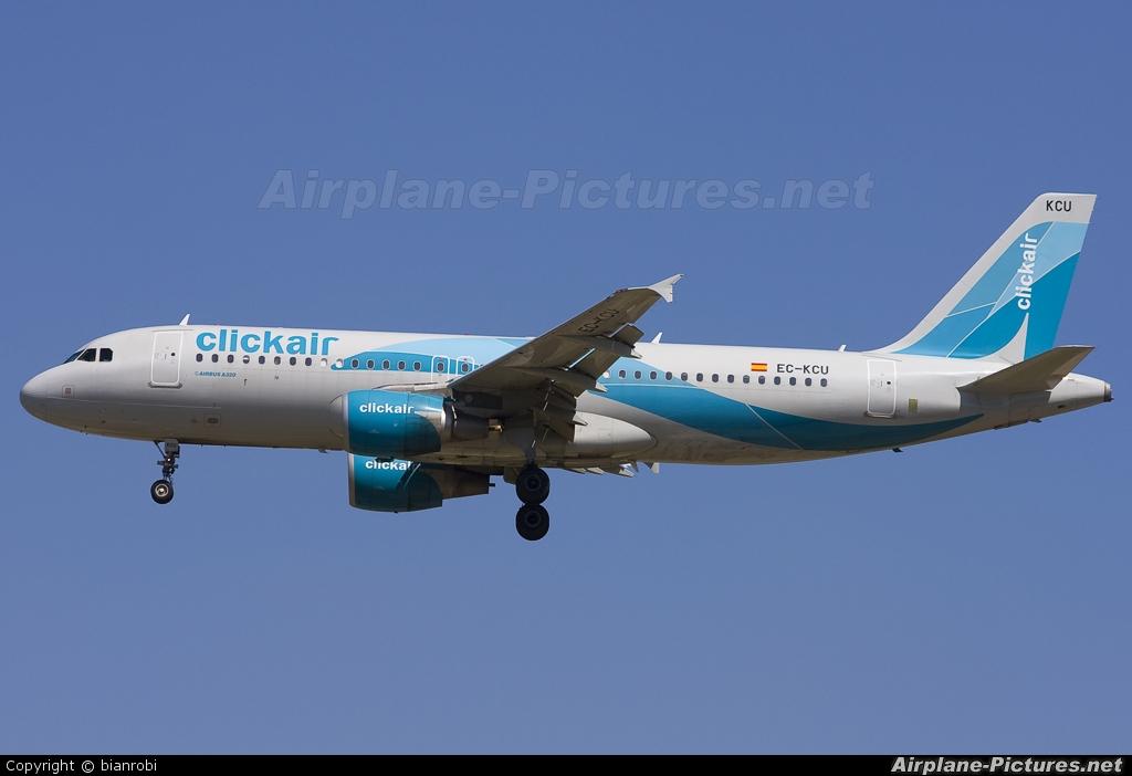 Clickair EC-KCU aircraft at Milan - Malpensa