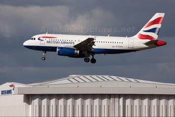 G-EUPH - British Airways Airbus A319