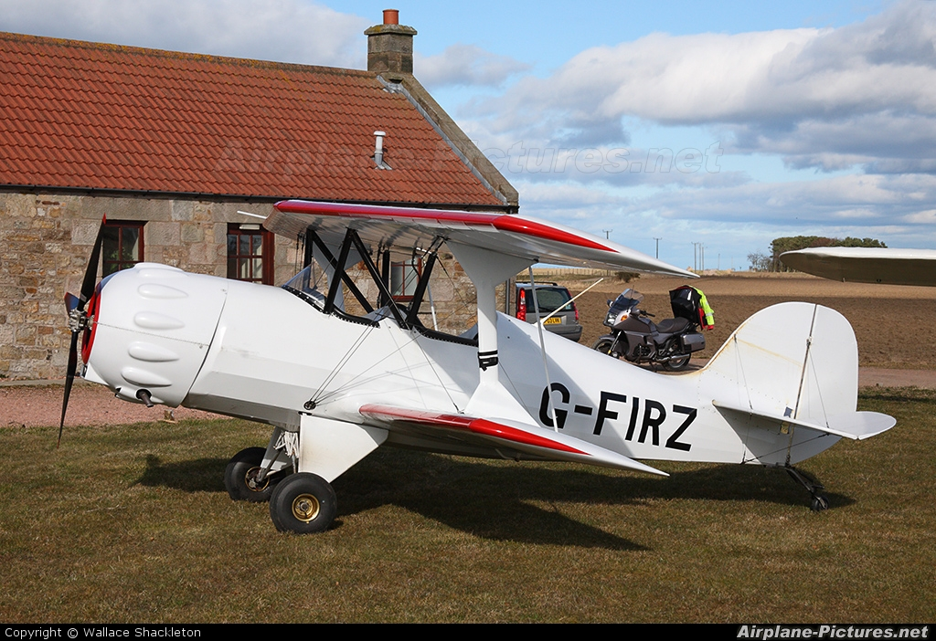 Private G-FIRZ aircraft at Kingsmuir