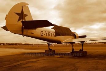G-YKYK - Private Yakovlev Yak-52
