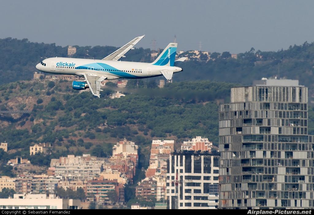 Clickair EC-ICV aircraft at Off Airport - Spain
