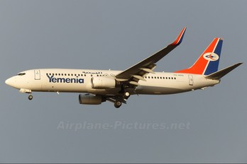 7O-ADQ - Yemenia - Yemen Airways Boeing 737-800