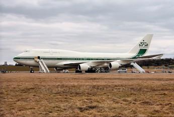 HZ-WBT7 - Kingdom Holding Boeing 747-400