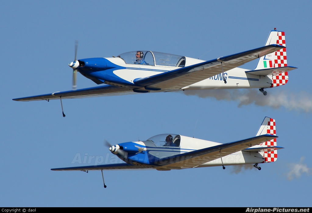 Private D-KONG aircraft at Brescia - Montichiari