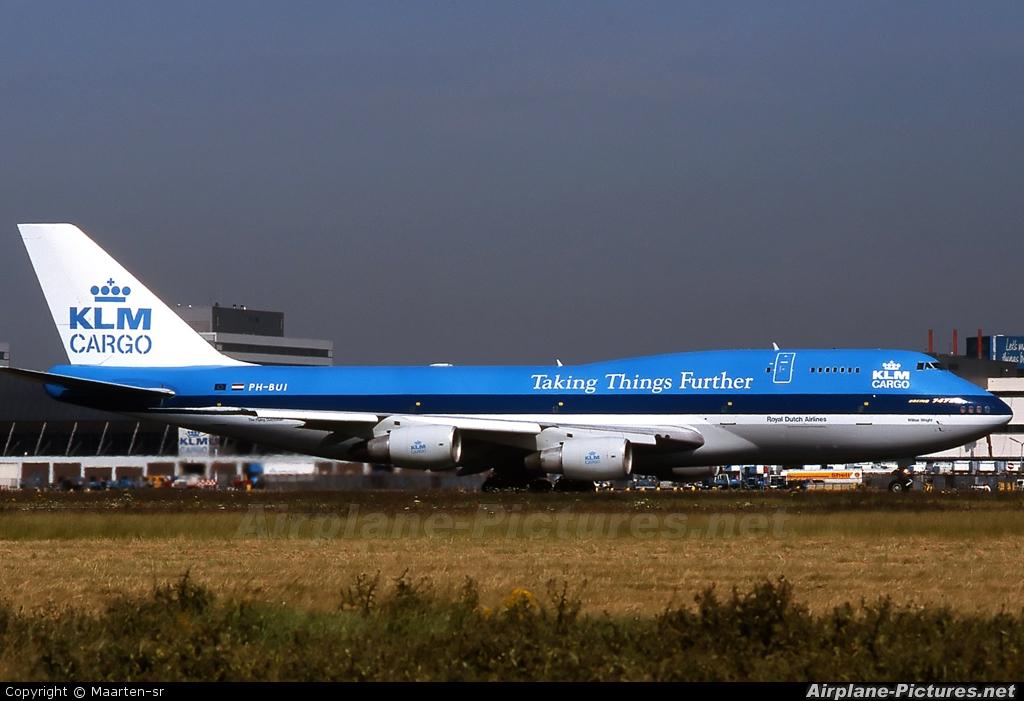 KLM Cargo PH-BUI aircraft at Amsterdam - Schiphol