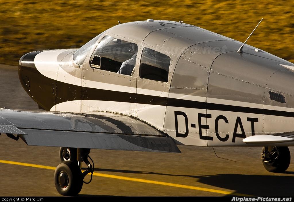 Private D-ECAT aircraft at Augsburg