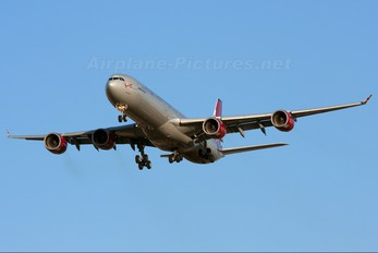 G-VMEG - Virgin Atlantic Airbus A340-600