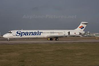 EC-FTS - Spanair McDonnell Douglas MD-83