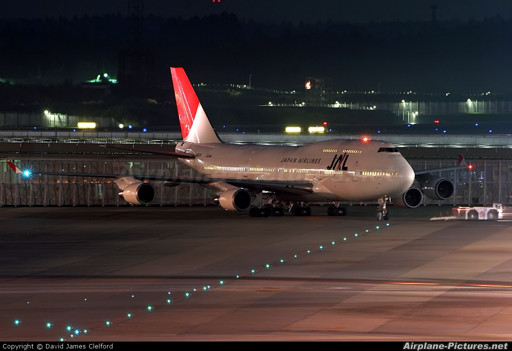 JAL - Japan Airlines JA8078 aircraft at Tokyo - Narita Intl