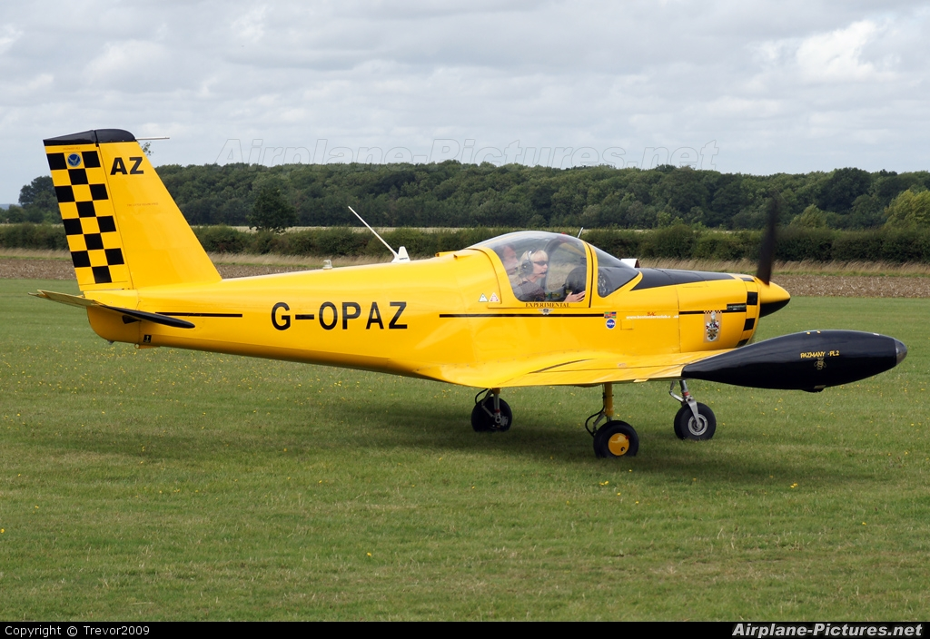 Private G-OPAZ aircraft at Little Gransden