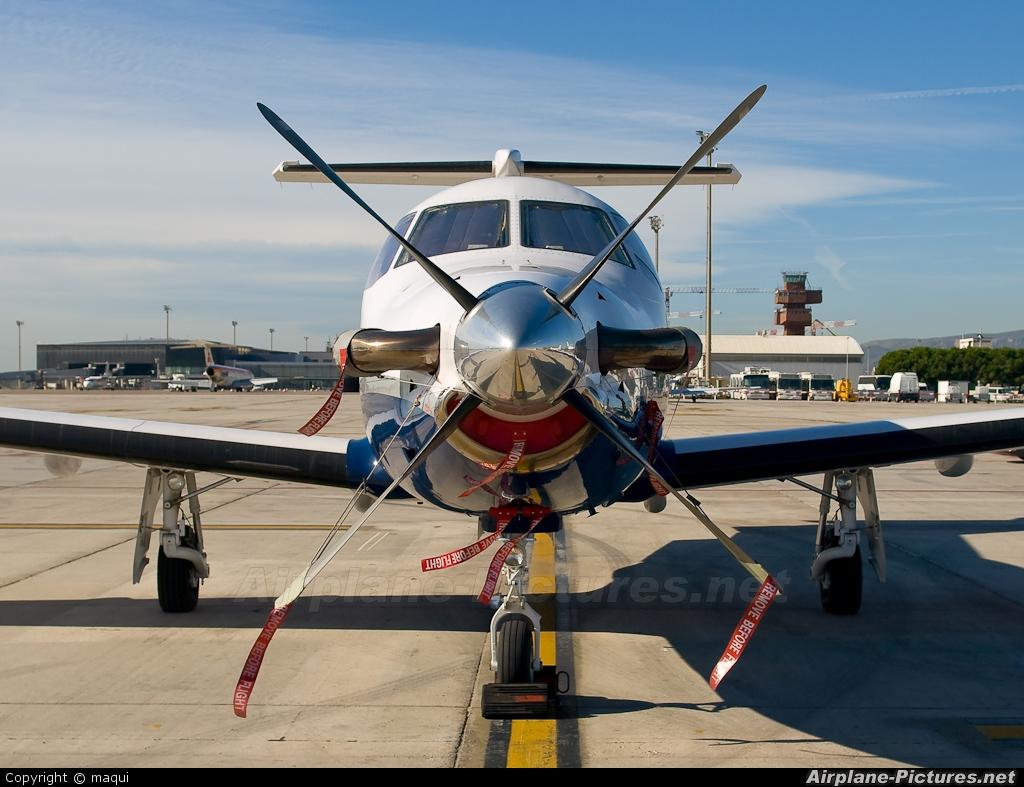 Private EC-JFO aircraft at Barcelona - El Prat