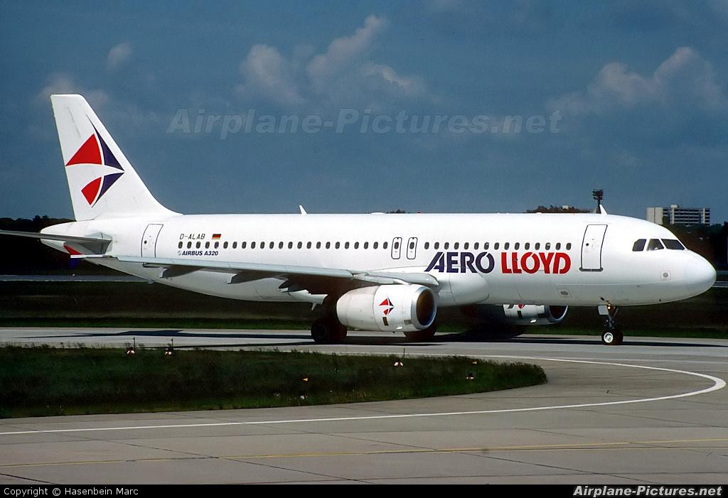 Aero Lloyd D-ALAB aircraft at Berlin - Tegel